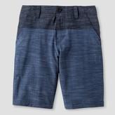 No Fear Boys' Flat Front Hybrid Shorts Navy