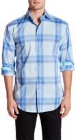Thomas Dean Long Sleeve Woven Shirt