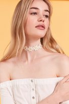 Urban Outfitters Flower Choker Necklace