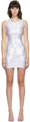 Saks Potts Silver Shimmer Vision Dress