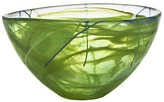 Kosta Boda Contrast Lime Bowl, Medium