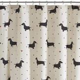 Asstd National Brand HipStyle Hannah Cotton Printed Shower Curtain