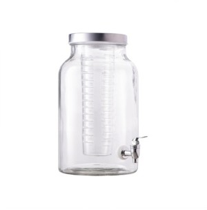 Jay Imports Lexington 1.5-Gallon Beverage Dispenser with Infuser