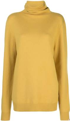 Extreme Cashmere loose-fit roll-neck jumper