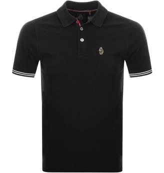 Luke 1977 New Mead Polo T Shirt Black