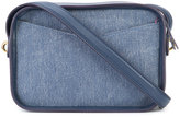 Derek Lam 10 Crosby denim panel cross-body bag - women - Cotton/Nappa Leather - One Size