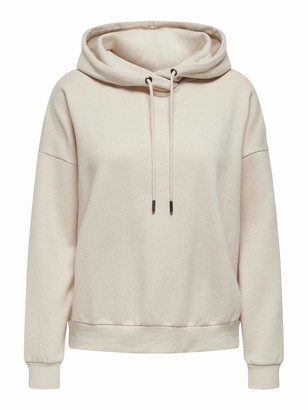 Only Women's ONLHAILEY L/S Hood SWT Sweater