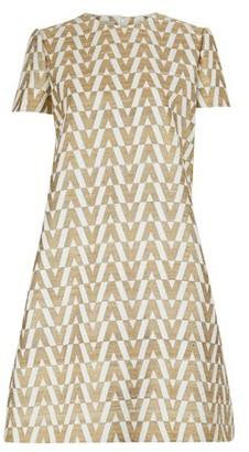 Valentino V print short dress