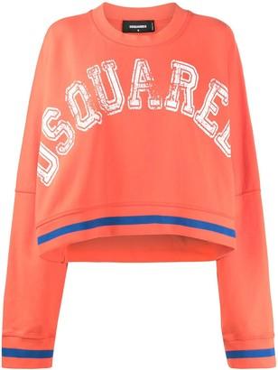 DSQUARED2 Slouchy Logo Sweatshirt