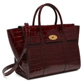 Mulberry Bayswater Leather Satchel - Burgundy