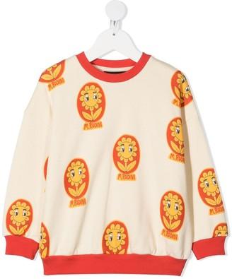 Mini Rodini Daisy Print Sweatshirt
