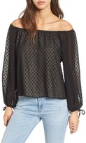 Wildfox Couture Women's Murietta Fil Coupe Off The Shoulder Top