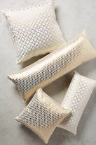 Anthropologie Quatrefoil Pillow