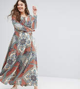 Alice & You Embroidered Maxi Dress