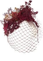 Vivien Sheriff Fox Lace Applique Hat