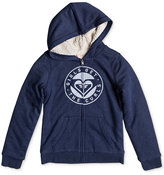 Roxy Memorize Density Full-Zip Hooded Sweatshirt, Big Girls (7-16)