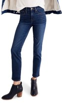 Madewell Women's High Waist Slim Straight Leg Jeans