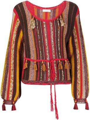 Etro Tassel Knitted Top