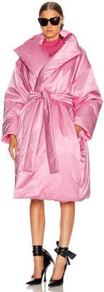 Balenciaga Short Padded Coat in Pink | FWRD