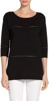 St. John Textured Knit Sweater