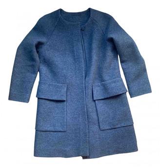 Cos Grey Wool Coats