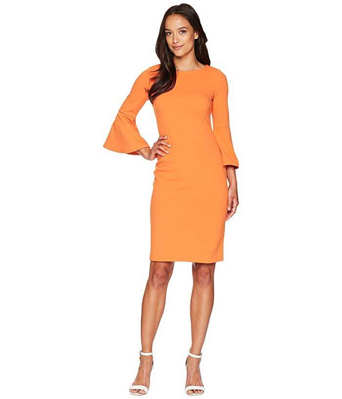 ea46dcf4 Calvin Klein Exposed Zipper Dresses - ShopStyle
