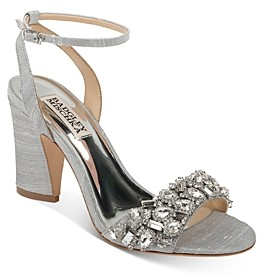 Badgley Mischka Women's Jill Embellished Strappy Sandals