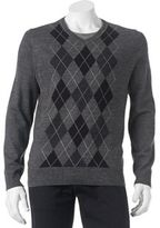 Apt. 9 Big & Tall Classic-Fit Argyle Merino Sweater