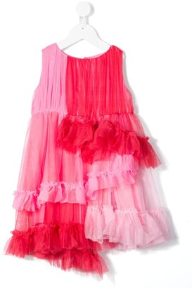 Raspberry Plum Astrid tulle dress