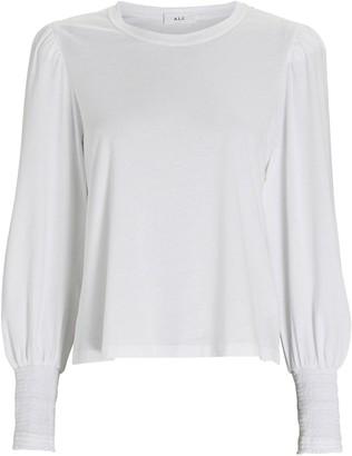 A.L.C. Karter Long Puff Sleeve T-Shirt