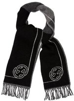 Gucci Wool Interlocking G Scarf