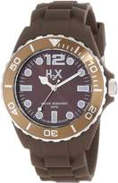 Haurex H2X Men's SM382UM1 Reef Luminous Water Resistant Soft Rubber Watch