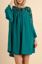 Umgee USA Teal Dress