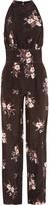 Nina Ricci Floral-print silk-georgette jumpsuit