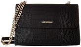 Love Moschino Croco Pu Shoulder Bag Shoulder Handbags