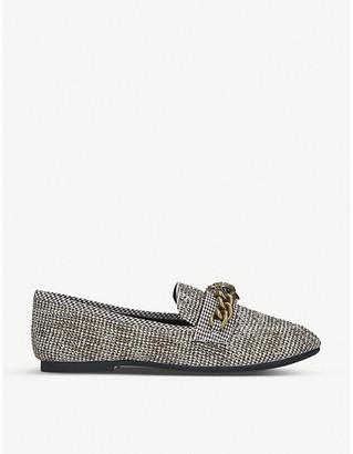Kurt Geiger Chelsea tweed loafers