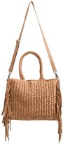 Day & Mood Lily Fringe Satchel - Leather (For Women)