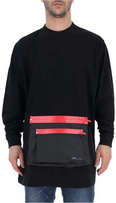 Marcelo Burlon County of Milan Front Pocket Sweater