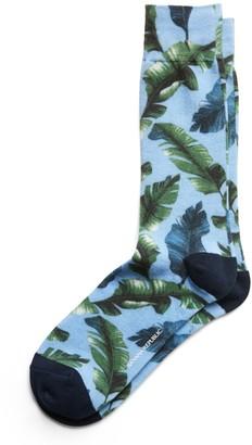 Banana Republic Foliage Sock