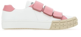 Prada Strapped Logo Sneakers