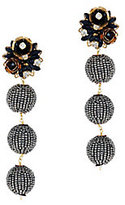 Mercedes Salazar Fiesta Pyrite Beaded Earrings