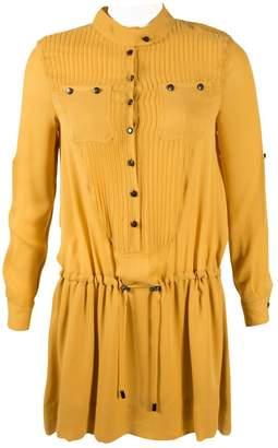 Hanley Yellow Silk Dresses