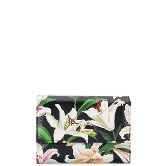 Dolce & Gabbana floral print trifold wallet