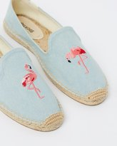 Soludos Embroidered Smoking Slippers