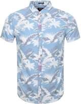 Superdry Miami Loom Shirt Blue