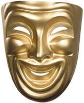 Disguise ATC126107502 Deluxe Plastic Comedy Mardi Gras Mask