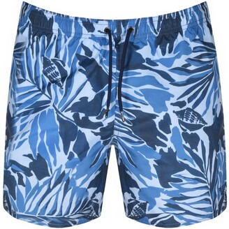 Giorgio Armani Emporio Swim Shorts Blue