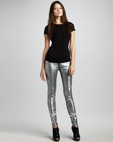 Sinclair Coe Metallic Silver Dreams Leggings