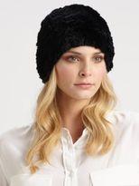 Surell Sheared Rabbit Fur Hat