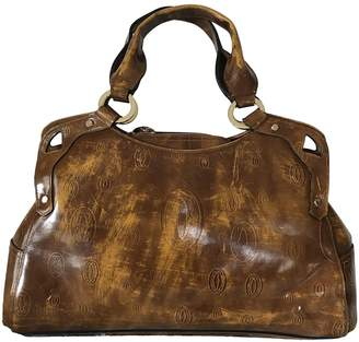 Cartier Marcello Brown Patent leather Handbags